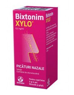 Bixtonim Xylo 0,5mg/ml x 10ml picături nazale