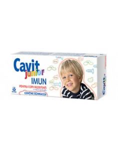 Cavit Junior Imun x 20 tablete masticabile