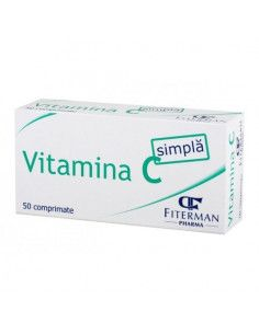 Vitamina C Simpla 180 mg x 50 comprimate