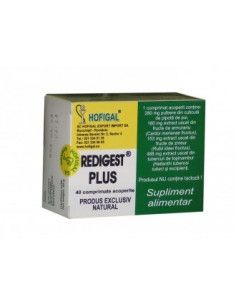Redigest Plus 40 comprimate Hofigal