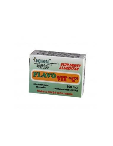 Flavovit C 500mg x 40 comprimate