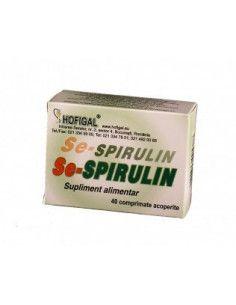 Se-Spirulin 40 comprimate Hofigal