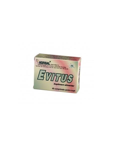 Hofigal Evitus x 40 comprimate