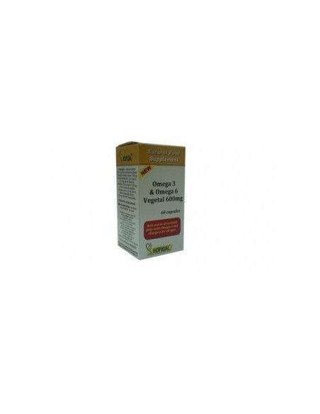Hofigal Omega 3-6 Vegetal 600 mg x 60 de capsule