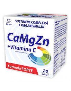 Zdrovit Ca Mg Zn + Vitamina C x 20 plicuri