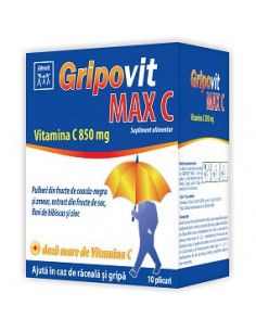 Gripovit Max C x 10 plicuri