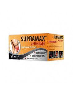 Supramax articulaţii cu aromă de piersică x 30 plicuri