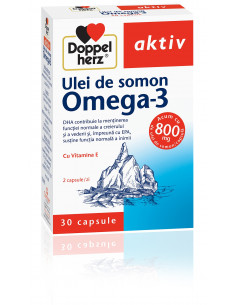 Doppelherz Aktiv Ulei de somon Omega3 x 10 capsule