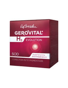 Gerovital H3 Evolution Crema Anti-age Intens Restructuranta 50ml
