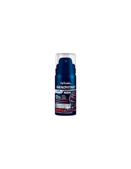 Gerovital H3 Men Deodorant Antiperspirant Active, 150ml