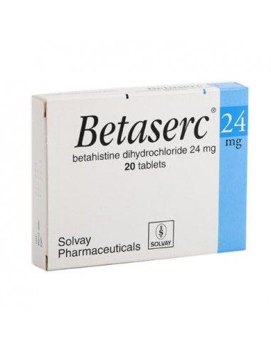 Betaserc 24mg x20 comprimate