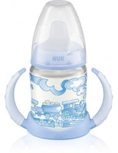 Nuk Biberon FIRST CHOICE Baby Blue cu toarte x 150ml