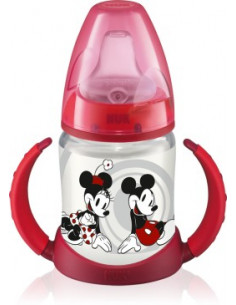 Nuk Biberon Mickey Mouse FIRST CHOICE cu toarte din gama Disney x 150ml