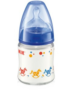 Nuk Biberon FIRST CHOICE din sticlă x 120ml
