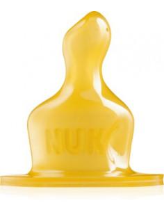 NUK Classic Tetina din latex 0-6luni mar S