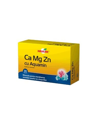 Walmark Ca-Mg-Zn Cu Aquamarin x 30 tablete