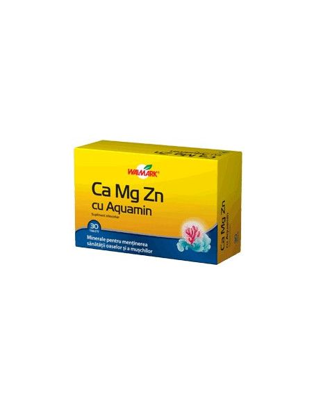 Walmark Ca-Mg-Zn Cu Aquamarin x 30 tablete