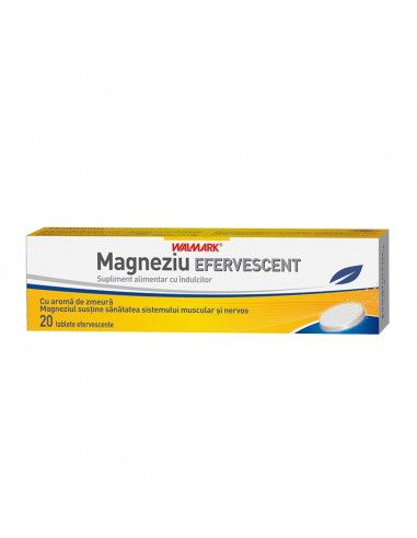 Walmark Magneziu Efervescent x 20 tablete