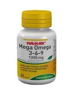 Walmark Mega Omega 3-6-9 x 30 capsule