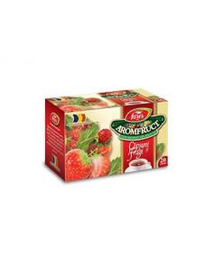 Ceai Aromfruct Capsuni si Fragi, ceai la plic