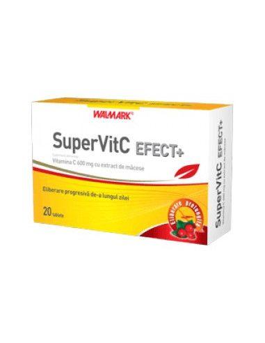 Walmark Super Vitamina C Efect+ x 20 tablete efervescente