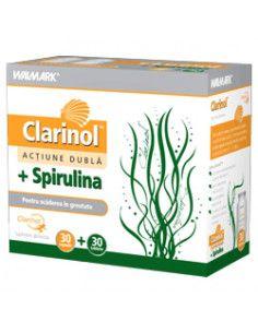 Walmark Clarinol + Spirulină x 30 cps + 30 cp