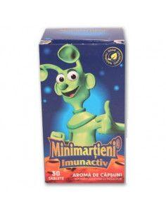 Walmark Minimarţieni Imunactiv Căpşuni x 30 tablete