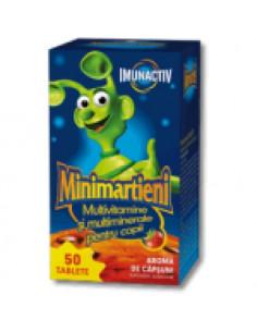 Walmark Minimarţieni Imunactiv Capsuni x 50 tablete