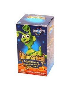 Walmark Minimarţieni Imunactiv Portocale x 50 tablete