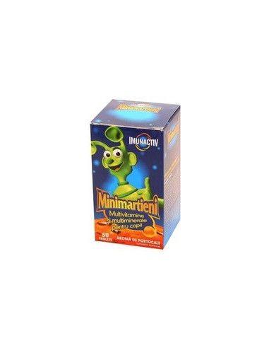 Walmark Minimarţieni Imunactiv Portocale x 30 tablete