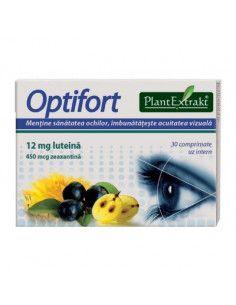 PlantExtrakt Optifort x 30 comprimate