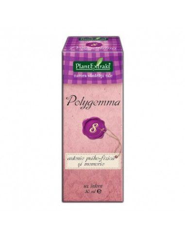 Polygemma 8 - Astenie Psiho-Fizică şi Memorie x 50ml