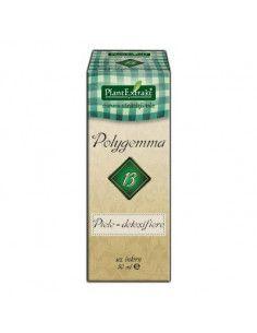 Polygemma 13 - Piele detoxifiere x 50ml