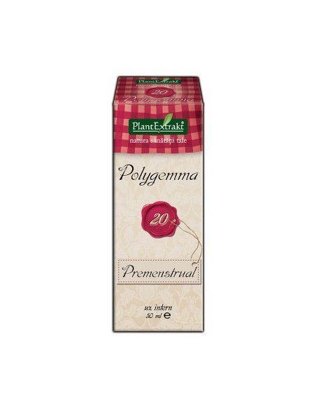 PlantExtrakt Polygemma 20 ( premenstrual ) x 50 ml