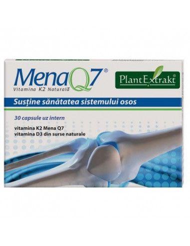 Mena Q7 - Vitamina K2 naturală x 30 capsule