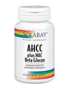 Secom AHCC Plus NAC & Beta Glucan x 30 capsule