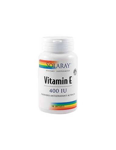 Vitamina E 400U.I. x 50 capsule gelatinoase moi