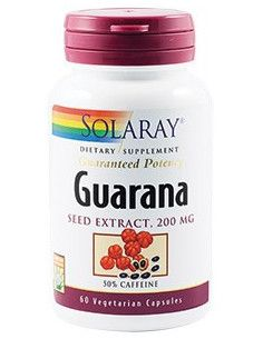 Guarana Seed Extract 200mg x 60 capsule