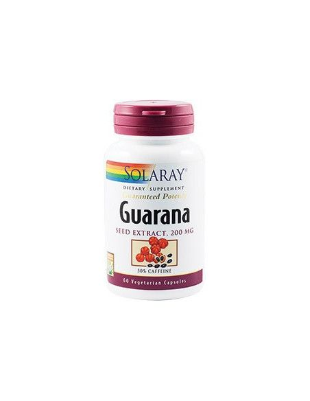 Secom Guarana Seed Extract 200mg x 60 capsule