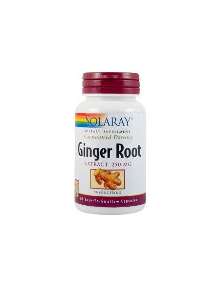 Secom Ginger Root 250mg x 60 capsule