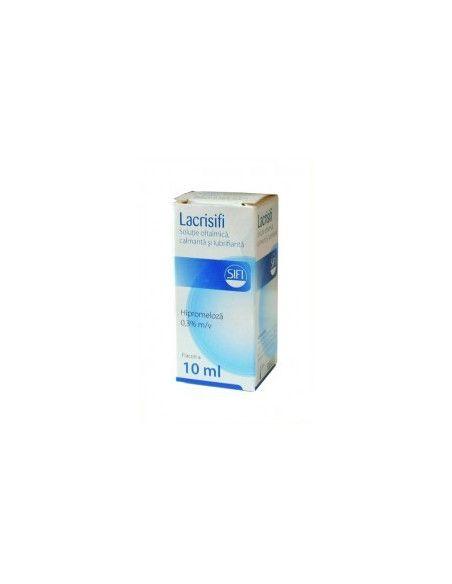 Lacrisifi solutie oftalmica 10ml