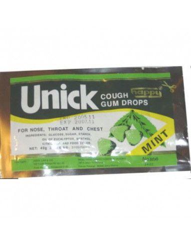Unick Gum Drops x 40g pungă