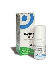 Hyabak 0.15% solutie oftalmica, x 10ml