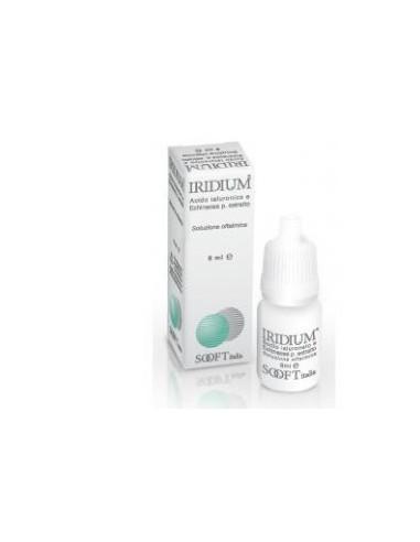 Iridium A x 8ml soluţie oftalmică
