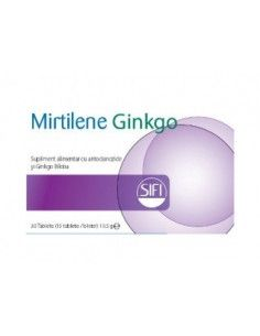Mirtilene Ginkgo x 30 tablete