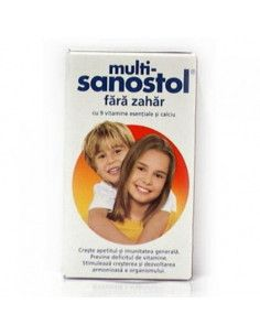 Sanostol Multivitamine Fara Zahar x 230ml