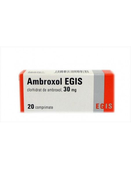 Ambroxol 30 mg x 20 comprimate (EGIS)