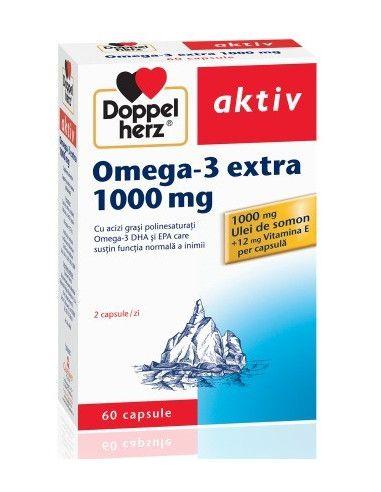 Doppelherz Aktiv Omega 3 Extra 1000mg x 60 capsule