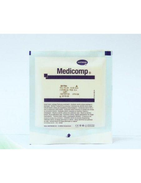 Hartmann Comprese sterile (Medicomp) 10cm/10cm x 50 buc