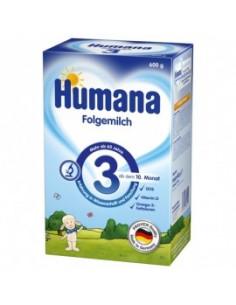 Humana 3 Prebiotic GOS lapte praf x 600 g